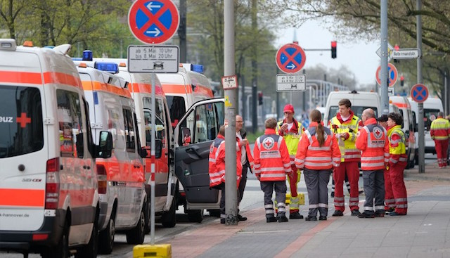 50,000 evacuated in Germany over unexploded WWII bombs