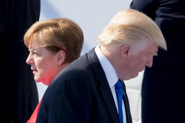 Trump lashes out at Germany, promises 'change' in relations