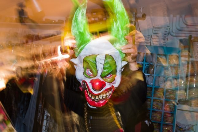 Young women convicted for causing trauma in 'killer clown prank'