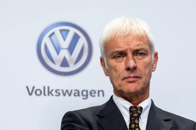 VW boss being investigated for market manipulation after 'dieselgate'