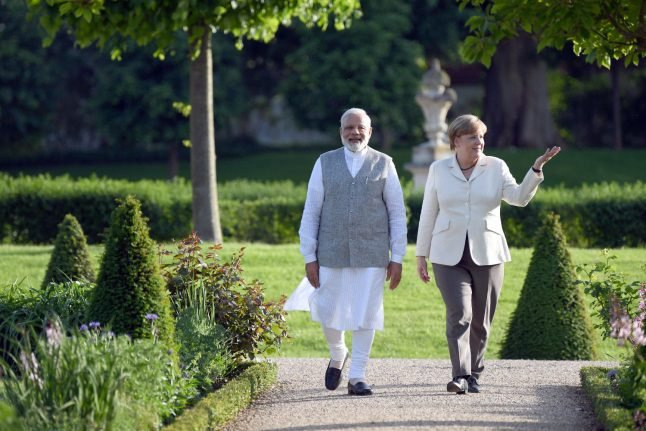 Germany and India hope to deepen ties with Modi's Berlin visit