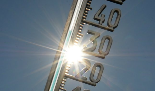 Temperature highs of 33C predicted for the week ahead