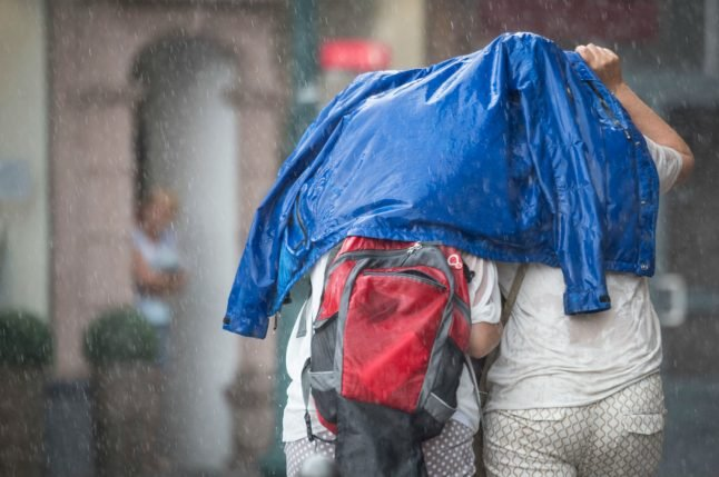100 km/h strong winds, storms to hit Germany in the week ahead