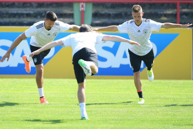 Football: Green Germany expect tough Confed Cup start