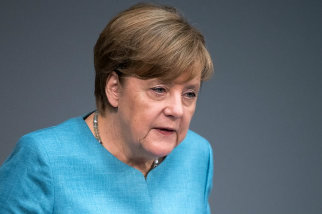 'Believers in protectionism terribly wrong': Merkel fires warning shot at Trump