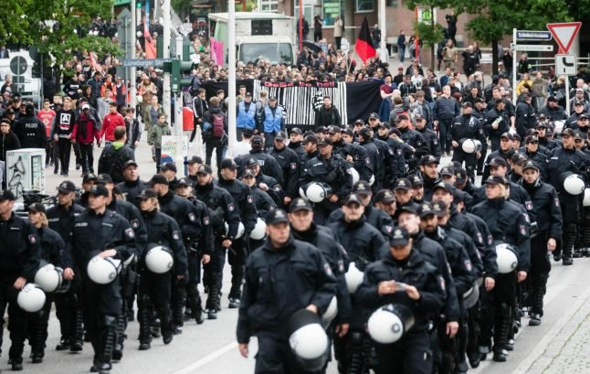 Securing G20 protests will be 'biggest police operation in Hamburg's history'