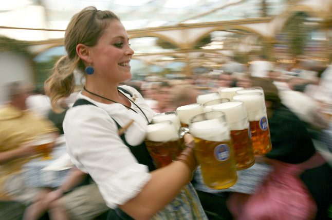 This is how much beer and drinks will cost at Oktoberfest 2017