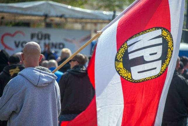 Germany ends state funding for far-right NPD party
