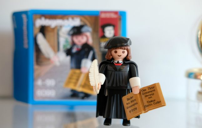 Martin Luther becomes most successful Playmobil figure in history