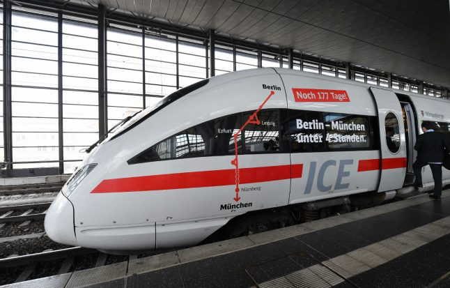 New high-speed train from Berlin to Munich makes 'historic' maiden journey