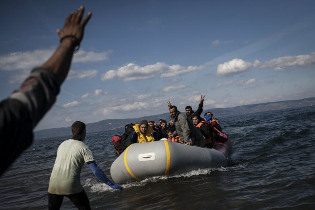 Three Syrians stand trial in Bavaria over refugee boat disaster