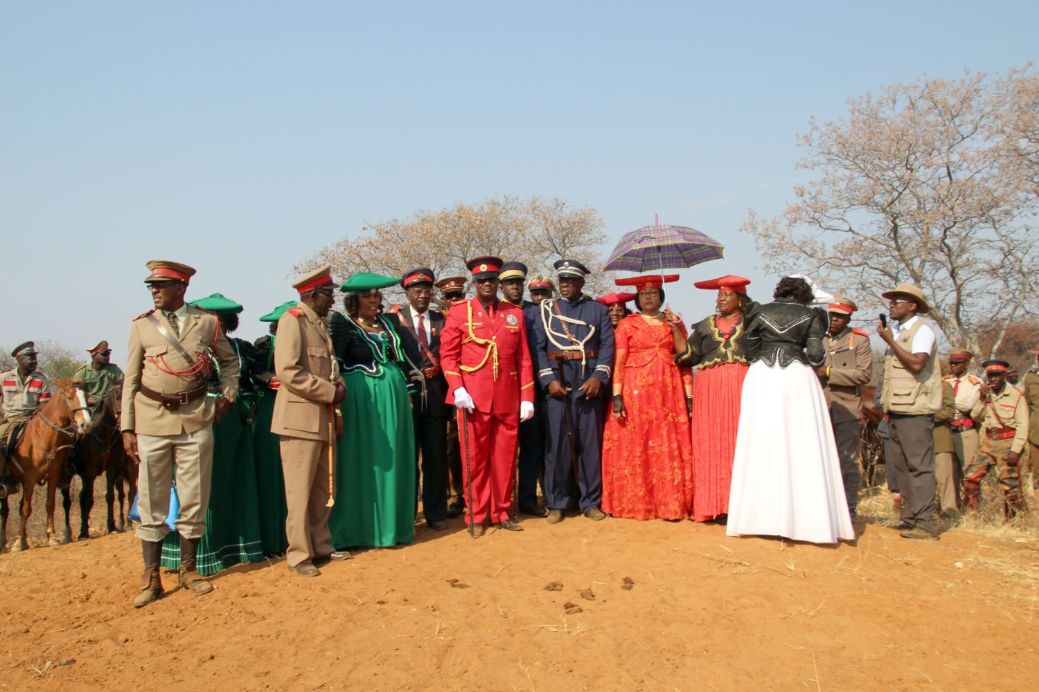 Namibian tribe continue fight for German compensation over colonial  genocide and looted artifacts - The Local
