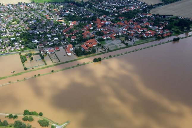 IN PICS: Central Germany begins clean-up effort after heavy flooding