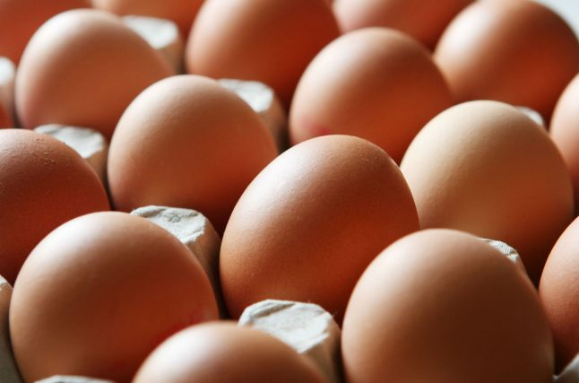 900,000 eggs recalled in western Germany due to insecticide fears