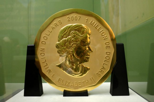 Police release video of thieves who stole €1 million-coin from Berlin museum