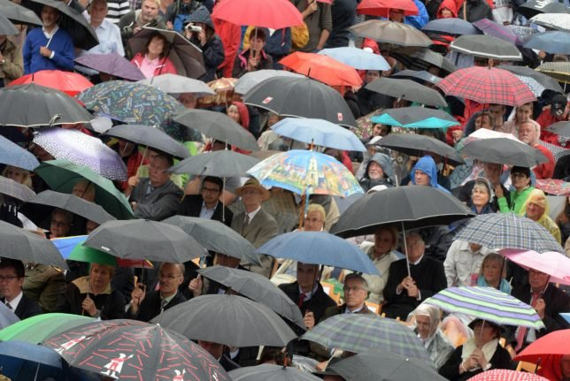 Summer of rain continues with flooding and heavy storms