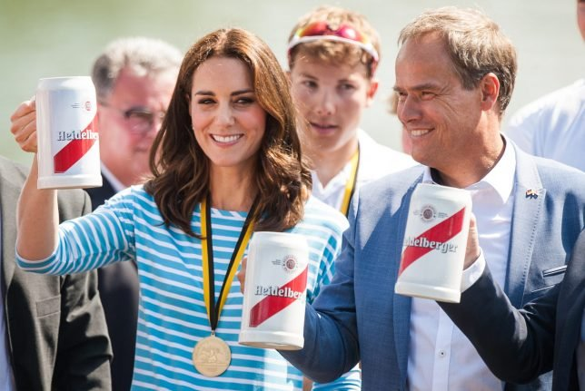 Boat races, bake-offs and beer: How Prince William and Kate spent their day in Heidelberg
