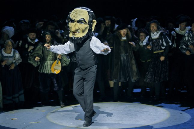 Opening opera at famed Wagner festival holds mirror up against composer's anti-Semitism