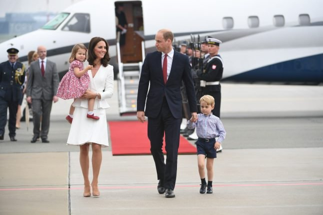 Here's where to catch Prince Will and Kate during their royal visit to Germany