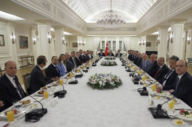 Turkey reassures German execs after placing firms on 'terror list'