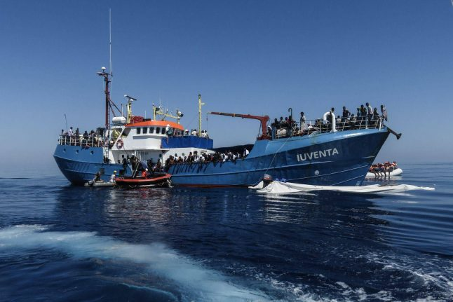 Italy impounds German NGO rescue boat suspected of aiding illegal immigration