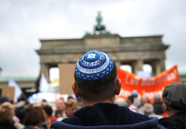 Berlin is 'hypocritical and dishonest' on anti-Semitism, Jewish newspaper claims