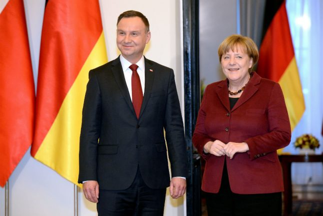 Merkel: Germany 'can't stay silent' on rule of law in Poland