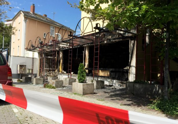 Two suspects arrested after explosion in shisha bar