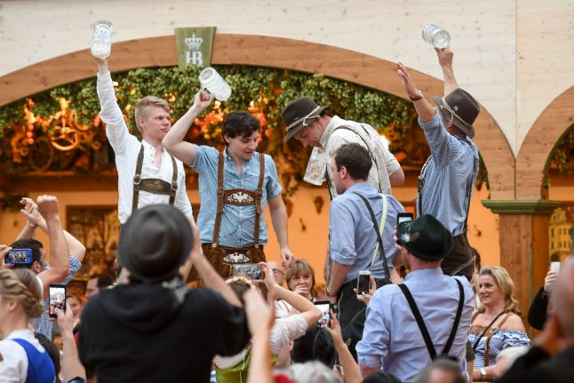 Munich police confiscate baby from Texan tourist defeated by Oktoberfest