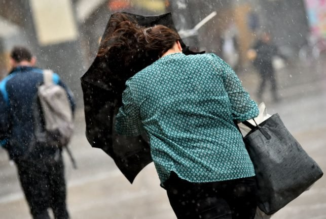 Storm and hurricane-force winds kill three people across Germany