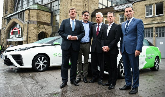 New hydrogen taxi service allows Hamburg to hail cabs guilt-free