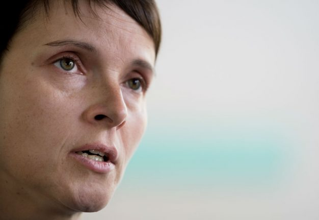 Petry, co-leader of far-right AfD, to quit party altogether as strife deepens