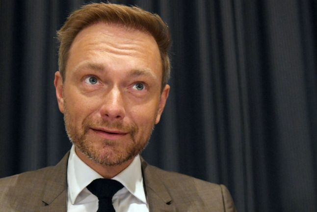 Young FDP leader talks tough ahead of coalition talks with Merkel