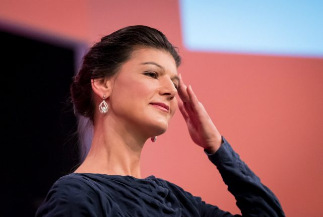 How Die Linke's election hopes are being held back by a glamorous but unloved leader