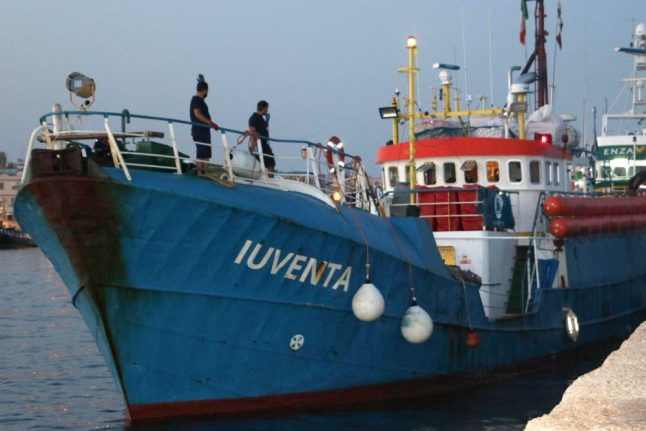 German NGO demands Italy release seized migrant rescue boat