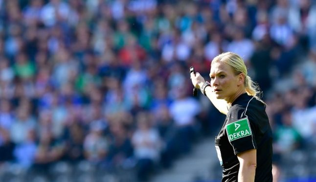 Germany's Steinhaus becomes first female ref in Europe's top leagues