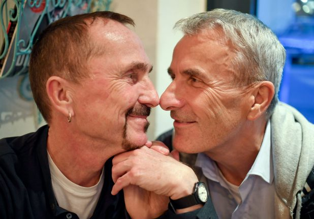 Germany's first gay marriages to take place on Sunday