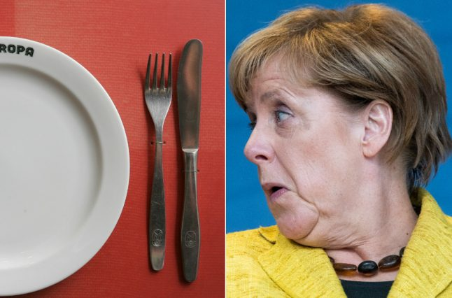 How would Germany's political leaders be best cooked?