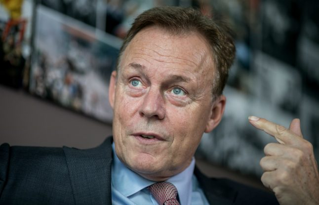 Social Democrats would consider rejoining coalition, but 'only if Merkel goes'