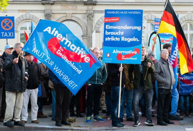 'The AfD have taken the place of Merkel's CDU on the right of German politics'