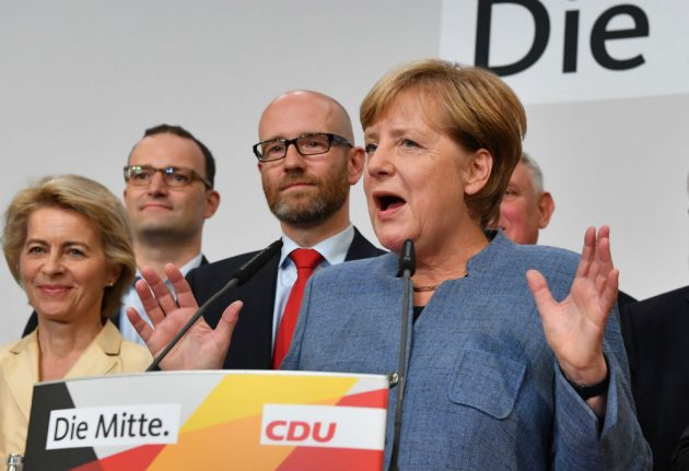 Merkel faces tricky coalition talks after 'nightmare' election victory