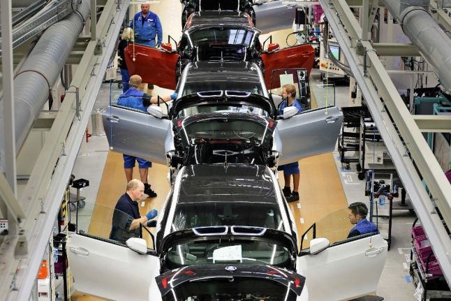 German auto companies 'at forefront' on key electric car technology
