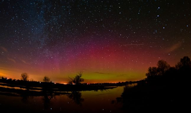 Rare chance to see Northern Lights possible across Germany this weekend