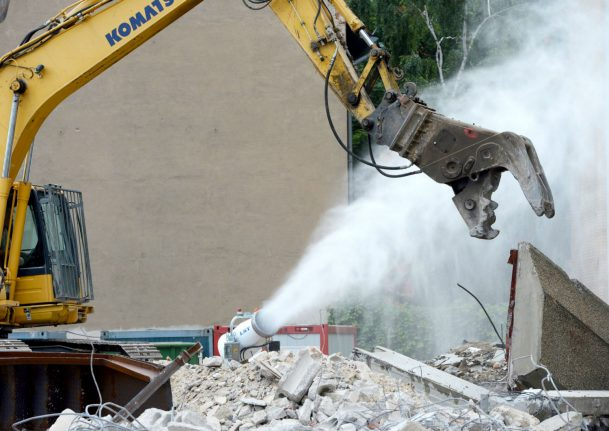 Developer who ripped down historic Munich house told to rebuild it brick-by-brick
