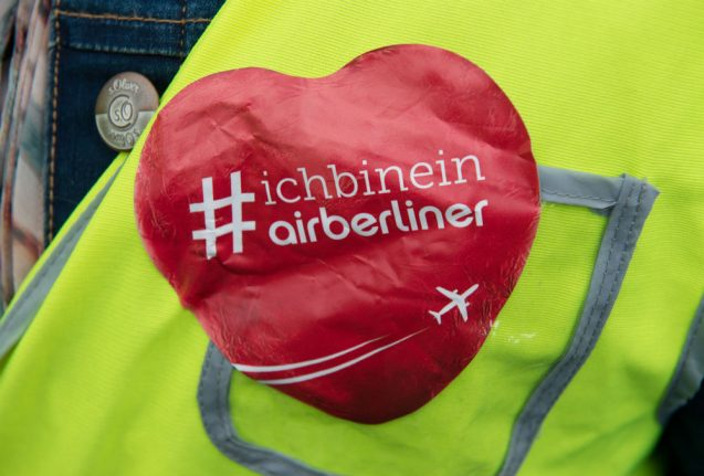 Auf Wiedersehen, jet: last flight for insolvent Air Berlin to land in capital on Friday