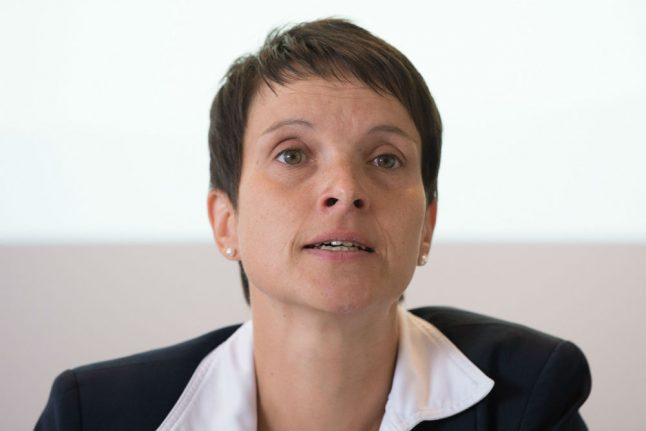 Former AfD leader Petry charged on suspicion of perjury