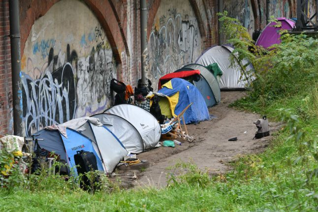 How Berlin is struggling to deal with growing homelessness in its parks