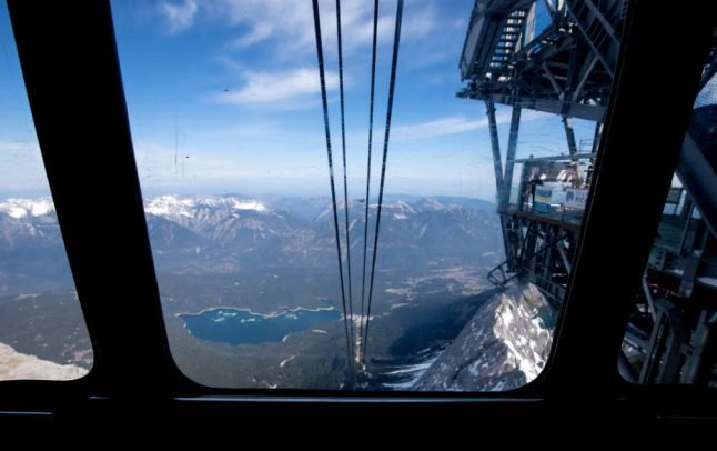 Record-breaking new cable car for tallest mountain in Germany near completion