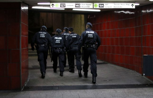 Mayor accuses police of 'giving up control' after murder in busy Cologne square