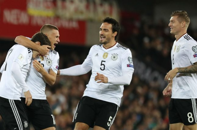Germany clinches World Cup spot with win over Northern Ireland